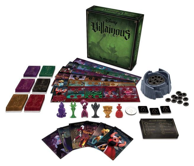 the disney villainous board game discount is back