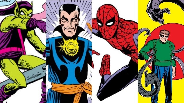 Ditko Marvel Comics