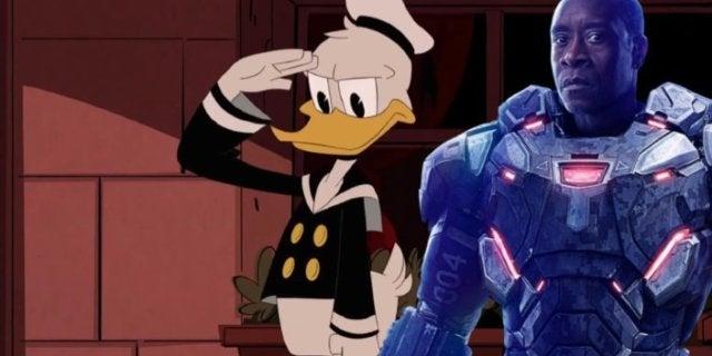 Don Cheadle Donald Duck comicbookcom