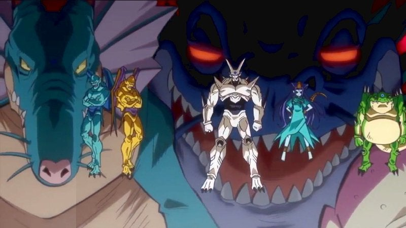 Dragon Ball Best Non-Canon Characers Omega Shenron Shadow Dragons