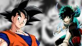 Dragon Ball Goku by My Hero Academia Kōhei Horikoshi