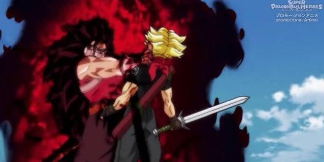 Dragon Ball Heroes Kanba Cumber Reactions