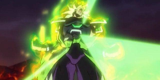 Dragon Ball Super Broly Movie Trailer - Broly Berserker Super Saiyan