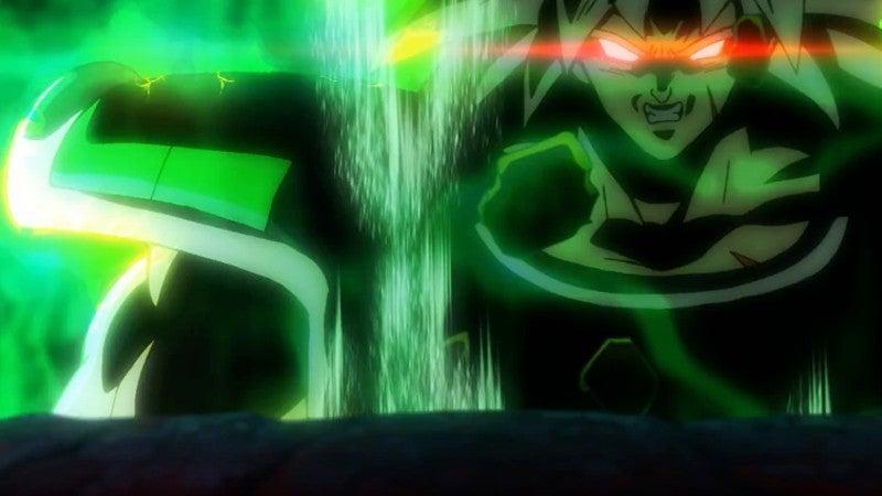 Dragon Ball Super Broly Movie Trailer - Broly Goes Berserker