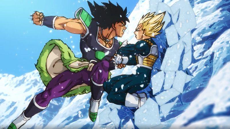 Dragon Ball Super Broly Movie Trailer - Broly vs Vegeta