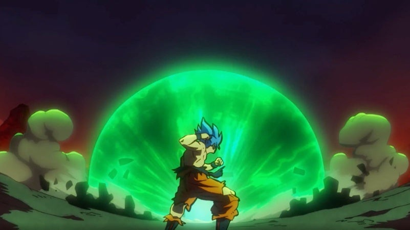 Dragon Ball Super Broly Movie Trailer - Goku SSB vs Berserker Broly Final Fight