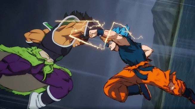Dragon Ball Super Broly SSB Goku vs Broly