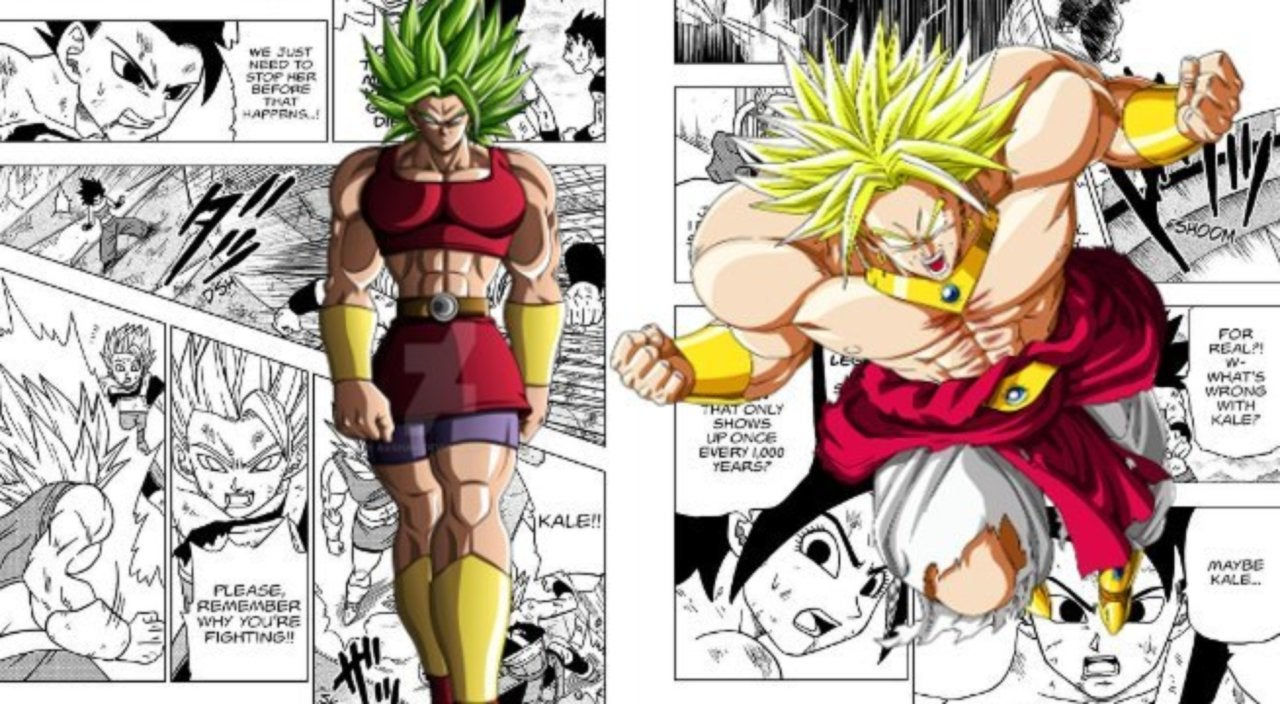 Dragon Ball Super Finally Namedrops A Legendary Saiyan