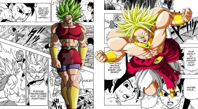 Dragon Ball Super LSSJ Official Canon Broly Kale