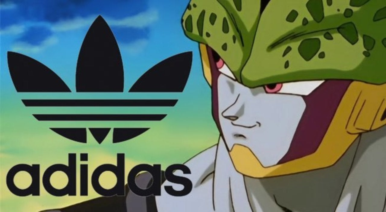 newest 228d5 e8bdd  Dragon Ball Z  Adidas Line Leak Reveals Best Look Yet at Cell Shoes
