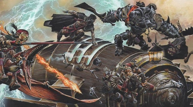 """eberron """"title ="""" eberron """"height ="""" 333 """"width ="""" 600 """"-item ="""" 1121488 """"/> </figure> </figure> <p>  Eberron, the noir-infected magical steampunk world introduced in 2001, returned to <em> Dungeons & Dragons </em> earlier this year. <em> Wayfinder's Guide to Eberron </em> Dragonmarks, Warforged, and other aspects of Eberron for the fifth edition have been retooled, but there is still an important component missing – the Artificer class. </p> <p>  The Artificer was a new class that was <em> Dungeons & Dragons </em> When Eberron first appeared on the market and engaged in the construction of magical items, D & D released a Playtest version of the Artificer class in 2017, but it was not part of <em> Wayfinder & # 39; s Guide </em> was when he The first edition of the book was published digitally. The designers have promised to work on the Artificer class We hope to get an """"official"""" release of the new class sometime in 2019. </p><div><script async src="""
