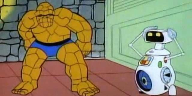 Fantastic Four Who Is Herbie - Cartoon