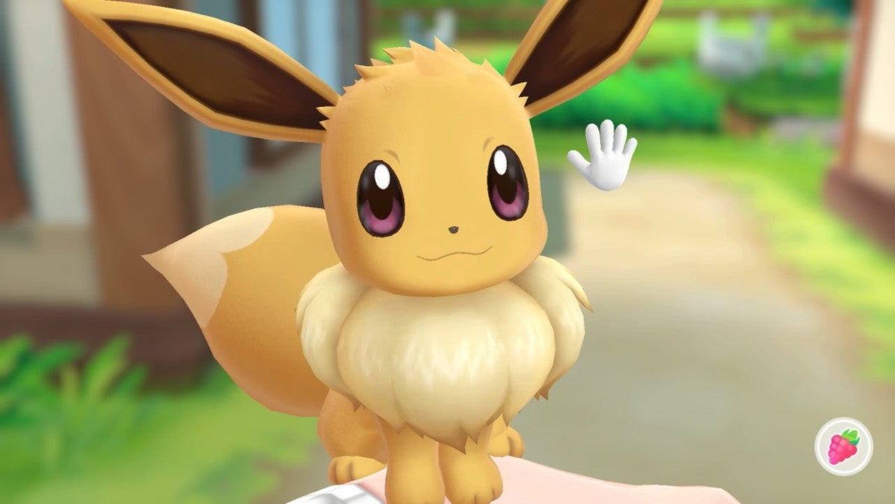 female eevee gets a new look in pokemon let s go