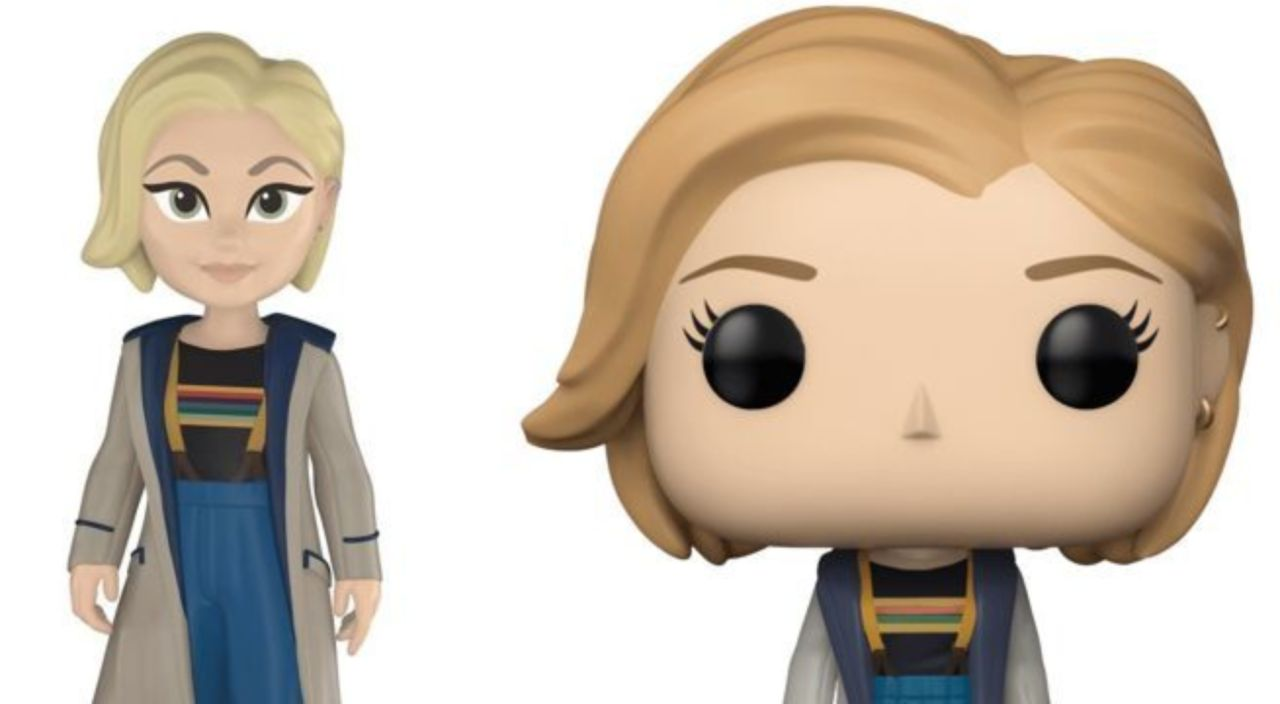 FunKo Free Shipping! Thirteenth Doctor without Coat Pop Vinyl Dr Who