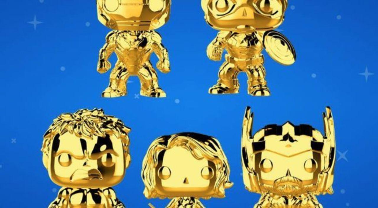Funko Launches Marvel Studios 10th Anniversary Gold Chrome Pop Figures
