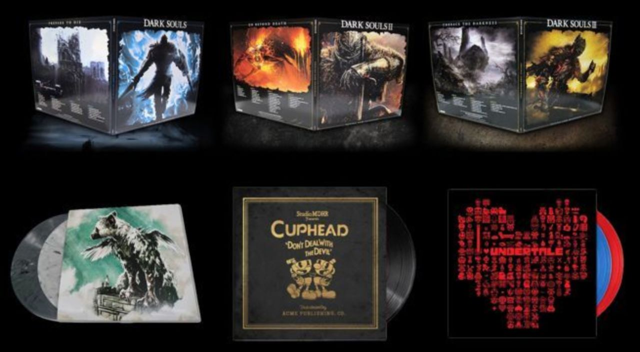Save Up to 50% On Dark Souls, Cuphead, and Undertale Vinyl