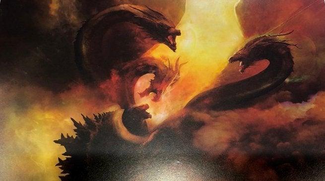 Godzilla 2 SDCC Header - King Ghidorah
