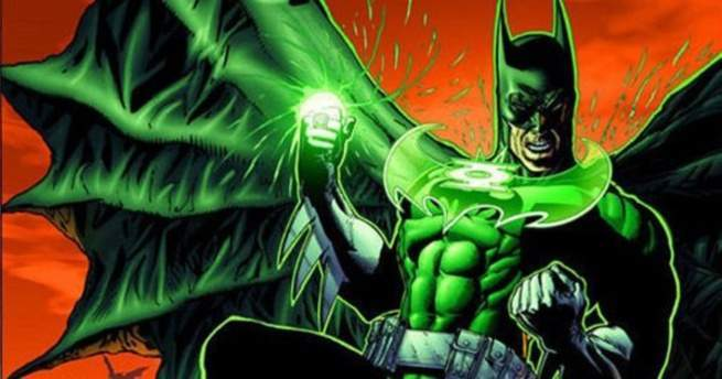 Grant Morrison Green Lantern - Batman