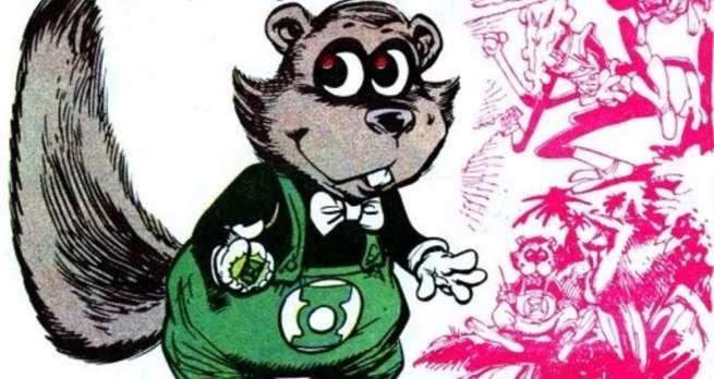 Grant Morrison Green Lantern - Ch'p