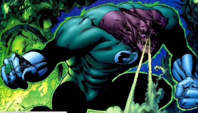 Grant Morrison Green Lantern - Kilowog