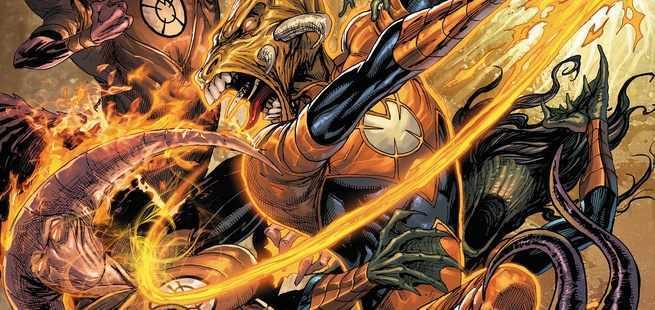 Grant Morrison Green Lantern - Larfleeze