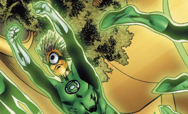 Grant Morrison Green Lantern - Medphyll