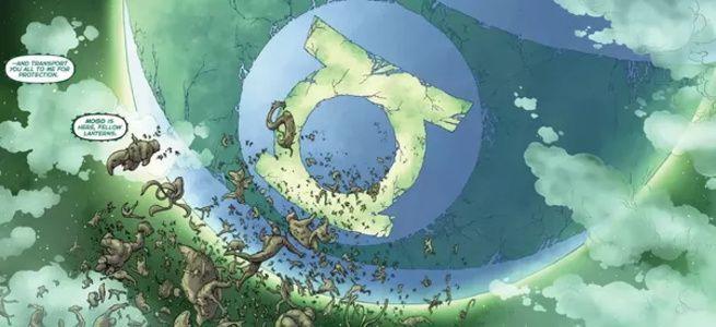 Grant Morrison Green Lantern - Mogo