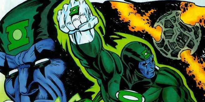 Grant Morrison Green Lantern - Raker Qarrigat