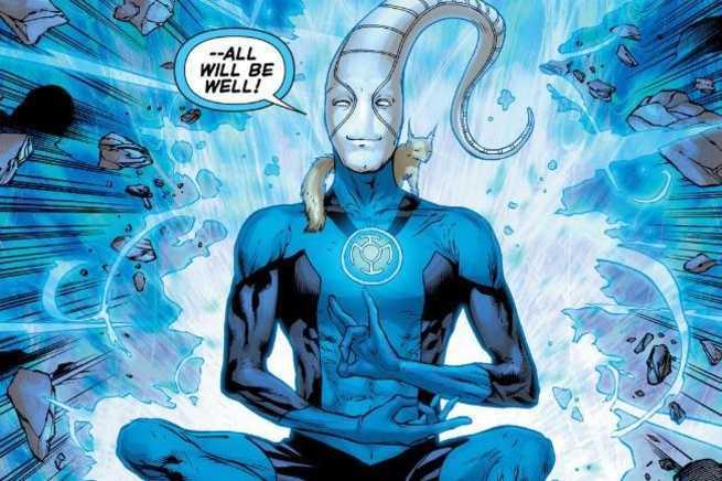 Grant Morrison Green Lantern - Saint Walker