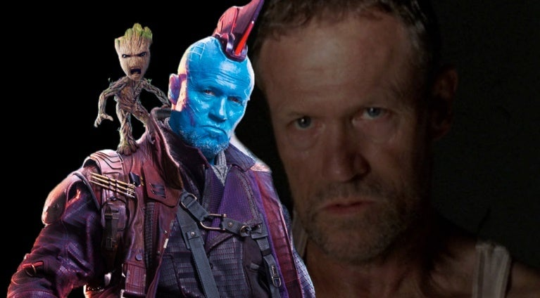 Guardians of the Galaxy Walking Dead Michael Rooker COMICBOOKCOM