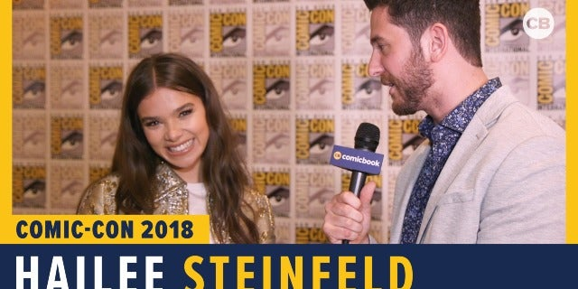 Hailee Steinfeld - SDCC 2018 Exclusive Interview screen capture