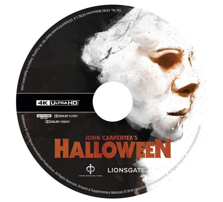 Halloween 4K Disc