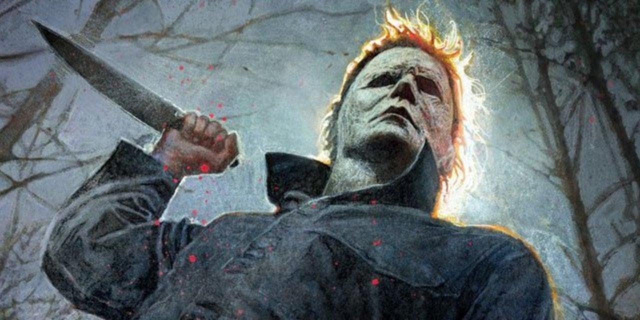 Halloween Movie Poster 2018.Halloween Movie Comic Con Poster Released