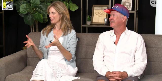Helen Slater & Marc McClure (Supergirl 1984) - SDCC 2018 Exclusive Interview screen capture