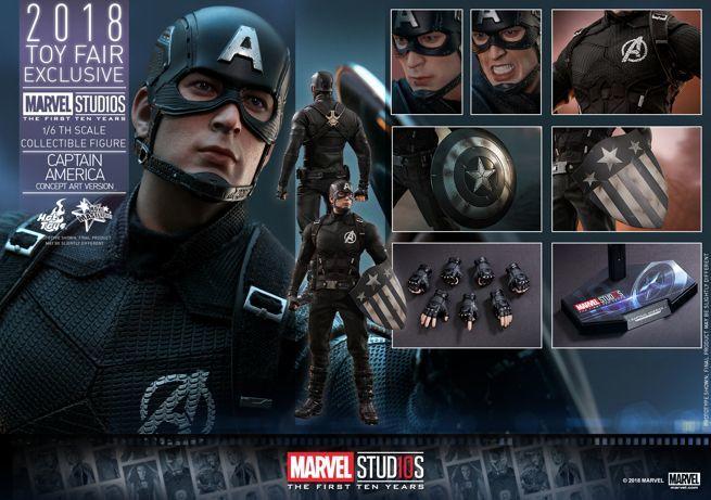 Hot Toys - Marvel Studios 10 - Captain America (Concept Art Version) collectible figure_PR23