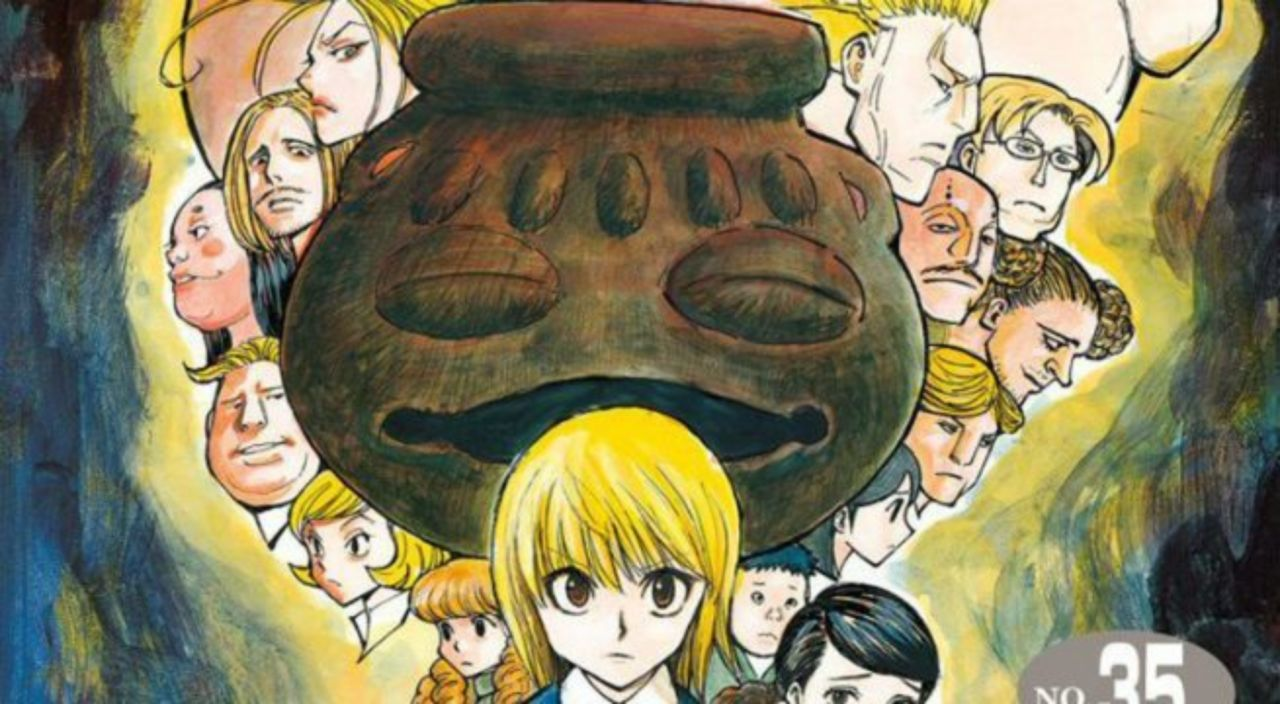 Hunter x Hunter' Volume 35 Nabs English Release Date