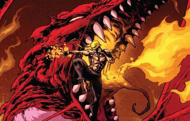Iron Fist Season 2 Comics - Rage