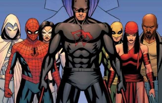 Iron Fist Season 2 Comics - Shadowland