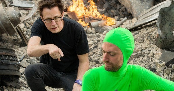james gunn guardians of the galaxy behind the scenes