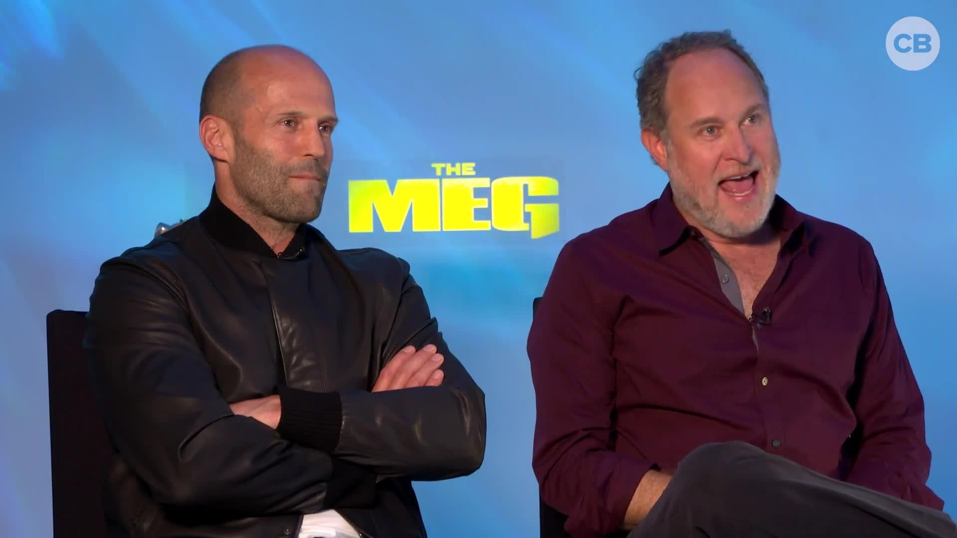Jason Statham and Jon Turteltaub - MEG Exclusive Interview screen capture