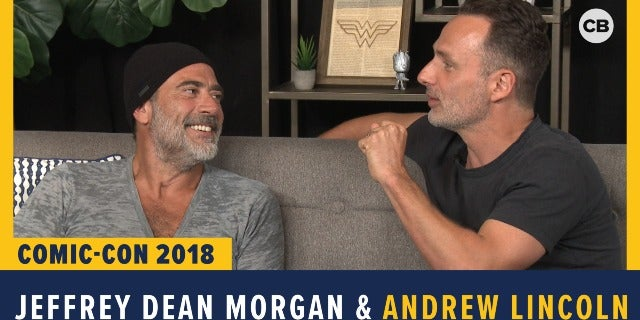 Jeffrey Dean Morgan and Andrew Lincoln - SDCC 2018 Exclusive Interview screen capture