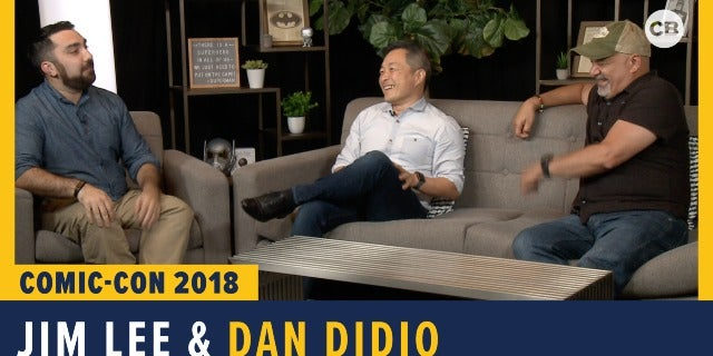 Jim Lee and Dan Didio - SDCC 2018 Exclusive Interview screen capture