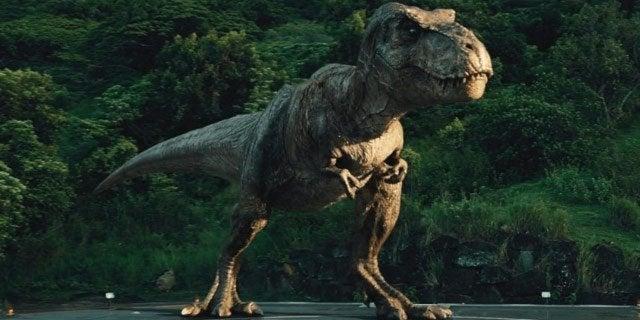 jurassic world t rex short arms