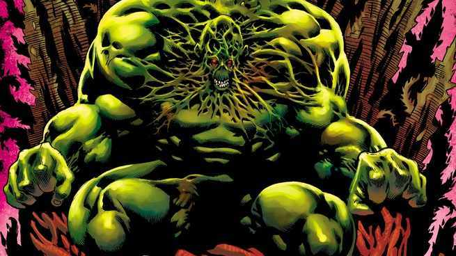 Justice League Dark Who - Swamp Thing