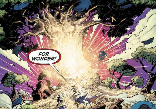 Justice League Dark Who - Tree of Wonder