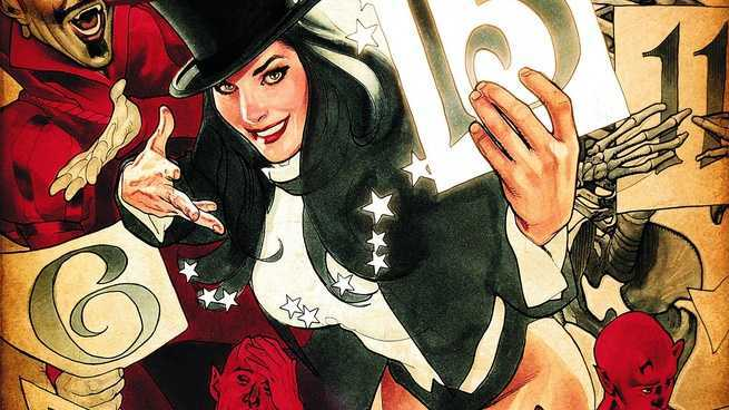 Justice League Dark Who - Zatanna
