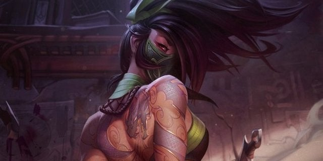 League of Legends Akali