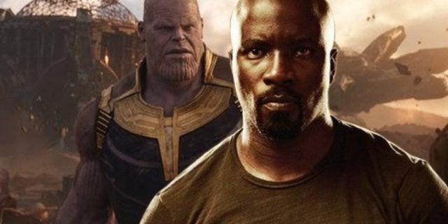 Luke Cage Thanos