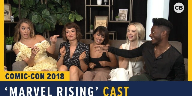 Marvel Rising - SDCC 2018 Exclusive Interview screen capture