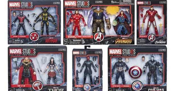 Marvel Studios 10th Anniversary Legends Figures Adds Thor, Ant-Man, and Red Skull thumbnail